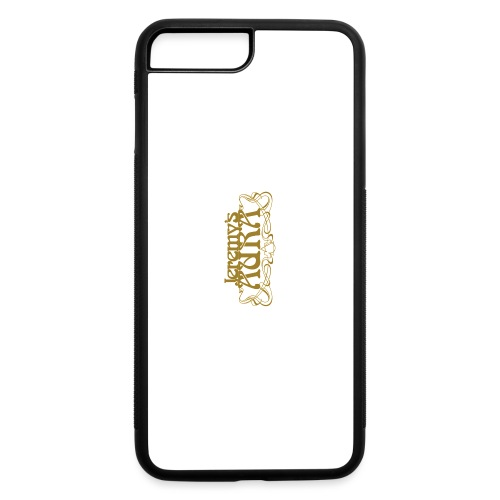 Jeremy's Art Nouveau Logo - iPhone 7 Plus/8 Plus Rubber Case