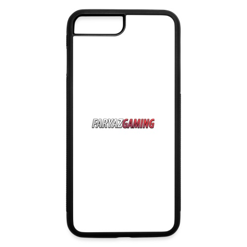 FaryazGaming Text - iPhone 7 Plus/8 Plus Rubber Case