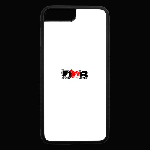 DALEY AND BOMBAY LOGO BALCK CASE - iPhone 7 Plus/8 Plus Rubber Case