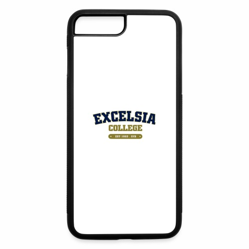 Merchandise logo artwork outlines blue - iPhone 7 Plus/8 Plus Rubber Case