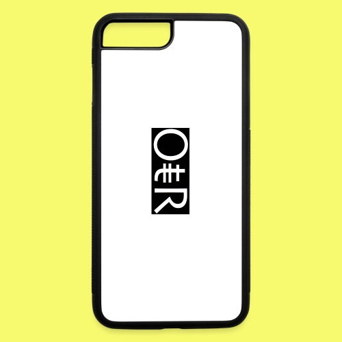 OntheReal coal - iPhone 7 Plus/8 Plus Rubber Case