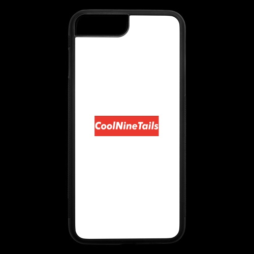 CoolNineTails supreme logo - iPhone 7 Plus/8 Plus Rubber Case