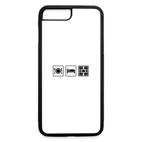 Eat Sleep Urb big fork - iPhone 7 Plus/8 Plus Rubber Case