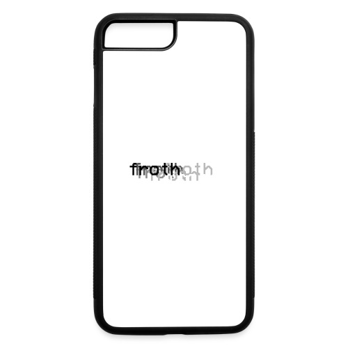 Froth Fade Hoodie - iPhone 7 Plus/8 Plus Rubber Case
