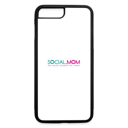 Social.mom Logo English - iPhone 7 Plus/8 Plus Rubber Case