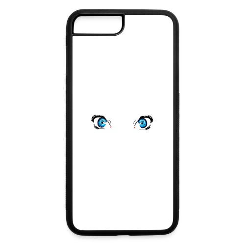 Glacier Blue Eyes - iPhone 7 Plus/8 Plus Rubber Case
