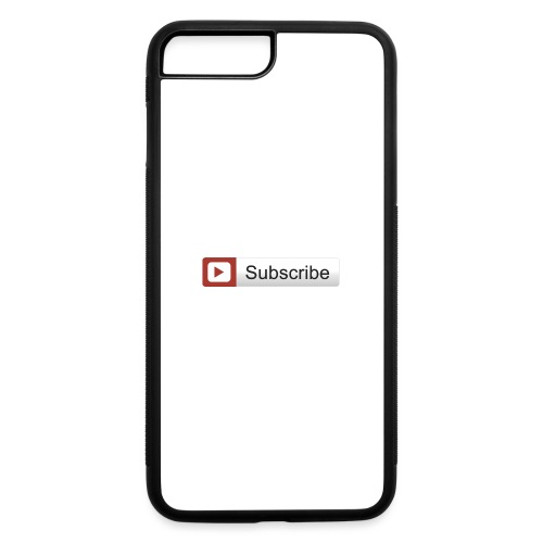 YOUTUBE SUBSCRIBE - iPhone 7 Plus/8 Plus Rubber Case