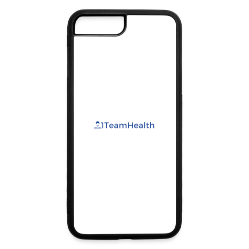 1TeamHealth Simple - iPhone 7 Plus/8 Plus Rubber Case