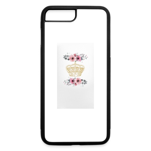 crowned with flowers - iPhone 7 Plus/8 Plus Rubber Case
