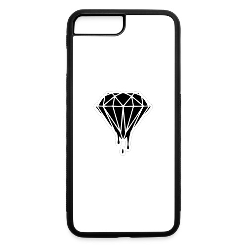 melting black diamond - iPhone 7 Plus/8 Plus Rubber Case