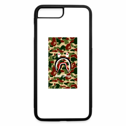 bape shark camo wallparer - iPhone 7 Plus/8 Plus Rubber Case