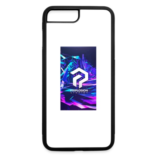 Pixplosion iPhone Case - iPhone 7 Plus/8 Plus Rubber Case