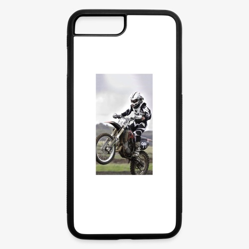 Dirtbike phone case - iPhone 7 Plus/8 Plus Rubber Case