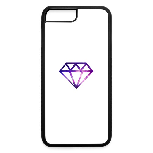 The Galaxy Diamond - iPhone 7 Plus/8 Plus Rubber Case
