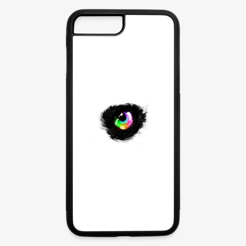 Rainbow wolf eye - iPhone 7 Plus/8 Plus Rubber Case