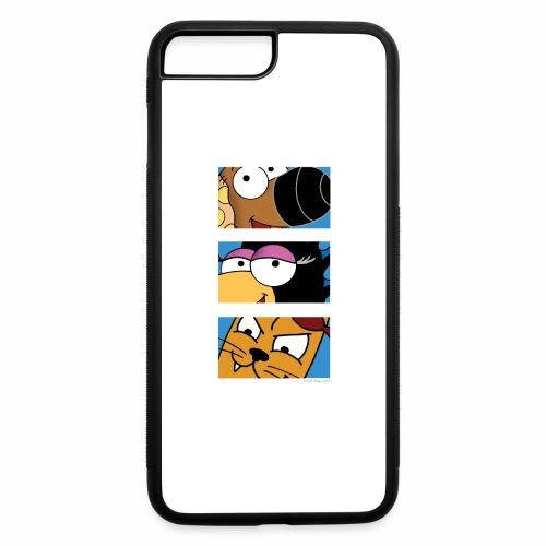 Rantdog Trio - iPhone 7 Plus/8 Plus Rubber Case