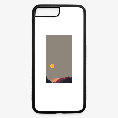 Sun over Mountains Phone Case - iPhone 7 Plus/8 Plus Rubber Case