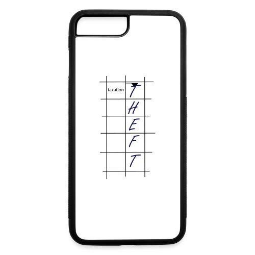 Taxation is Theft Crossword - iPhone 7 Plus/8 Plus Rubber Case