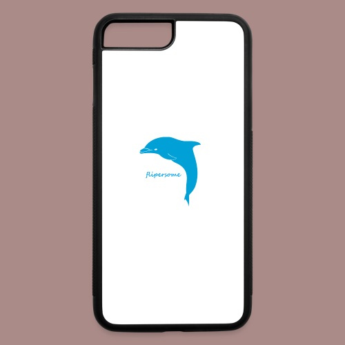 New flipersome Logo - iPhone 7 Plus/8 Plus Rubber Case
