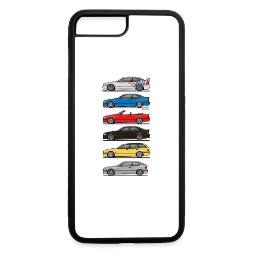 Stack of E36 Variants - iPhone 7 Plus/8 Plus Rubber Case