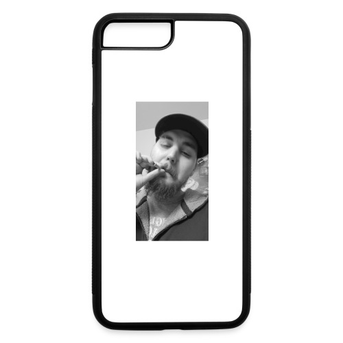 Turupxprime Hoots black n white merch line. - iPhone 7 Plus/8 Plus Rubber Case