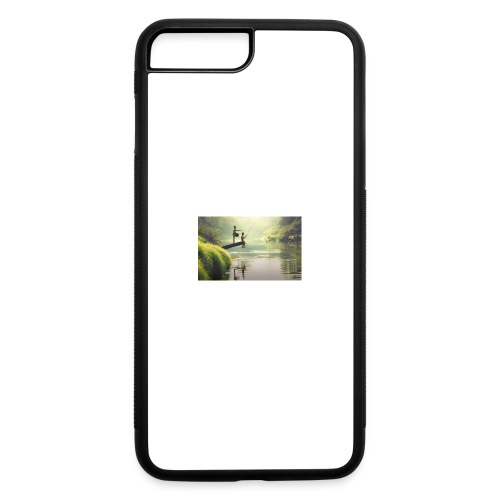 fishing - iPhone 7 Plus/8 Plus Rubber Case