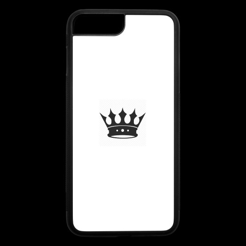 Crown design - iPhone 7 Plus/8 Plus Rubber Case
