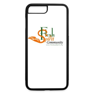 Flesh and Spirit Community T-Shirt - iPhone 7 Plus/8 Plus Rubber Case