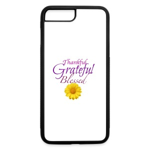 Thankful grateful blessed - iPhone 7 Plus/8 Plus Rubber Case