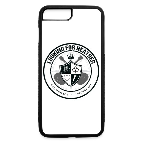 Looking For Heather - Crest Logo - iPhone 7 Plus/8 Plus Rubber Case
