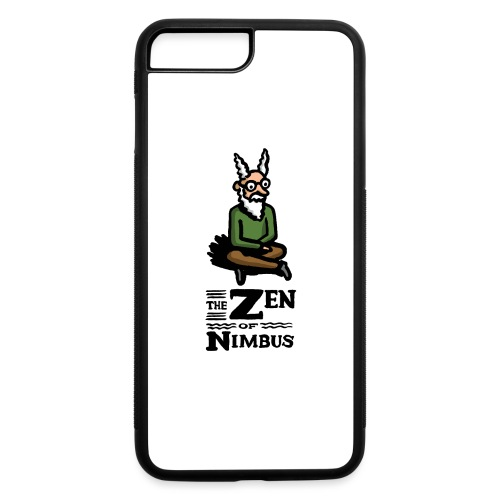 Nimbus character in color and logo vertical - iPhone 7 Plus/8 Plus Rubber Case