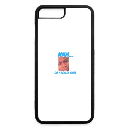 i dont care phone case - iPhone 7 Plus/8 Plus Rubber Case