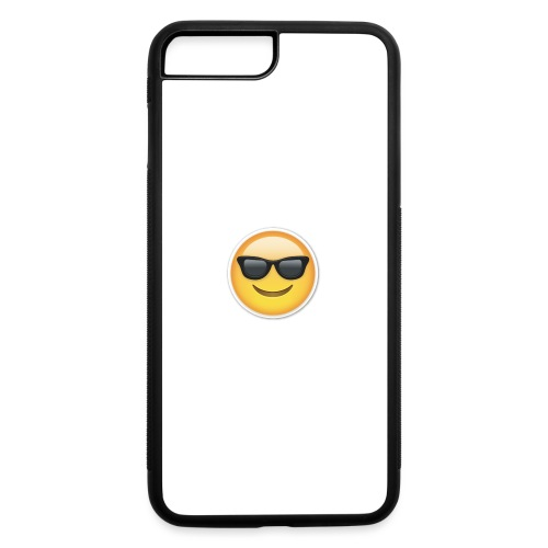 sunglasses emojicon mug & phone case - iPhone 7 Plus/8 Plus Rubber Case