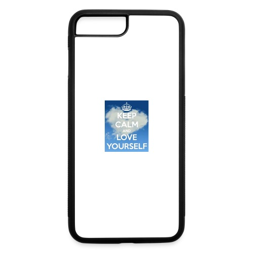 Keep calm and love yourself - iPhone 7 Plus/8 Plus Rubber Case