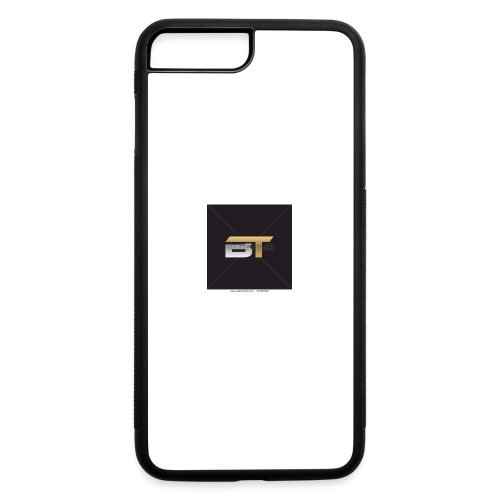 BT logo golden - iPhone 7 Plus/8 Plus Rubber Case