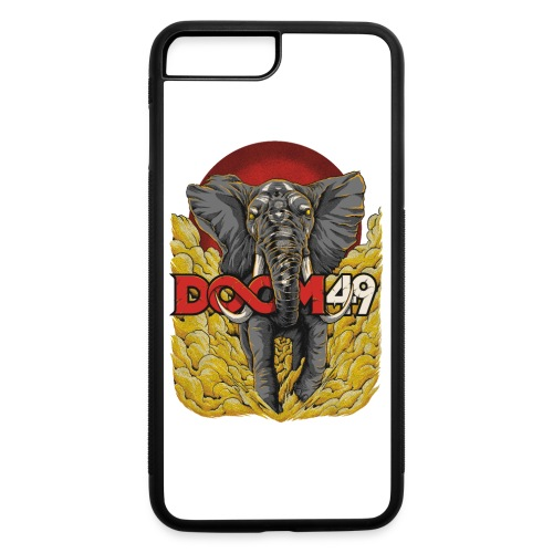 Yellow Smoke Elephant by DooM49 - iPhone 7 Plus/8 Plus Rubber Case