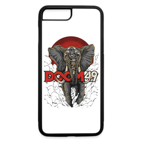 Clear Smoke Elephant by DooM49 - iPhone 7 Plus/8 Plus Rubber Case