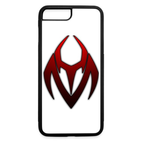 YM logo faded red - iPhone 7 Plus/8 Plus Rubber Case
