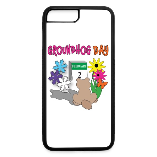 Groundhog Day Dilemma - iPhone 7 Plus/8 Plus Rubber Case