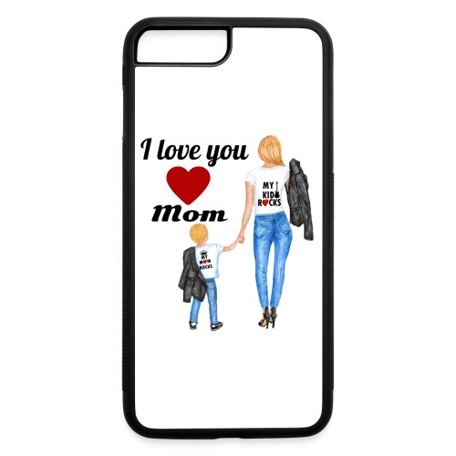 Mother's day gift from daughter, Mother's Day Gift - iPhone 7 Plus/8 Plus Rubber Case