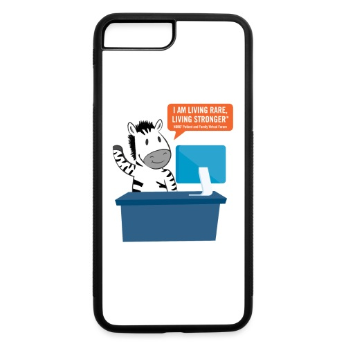 Living Rare, Living Stronger 2020 Virtual Zebra - iPhone 7 Plus/8 Plus Rubber Case