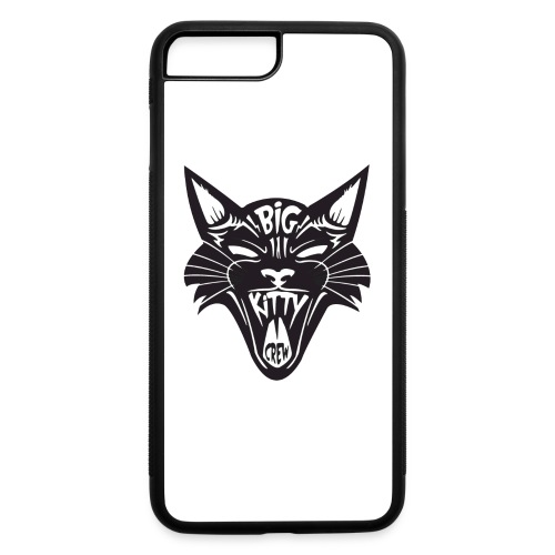 Big Kitty-Screaming Cat - iPhone 7 Plus/8 Plus Rubber Case