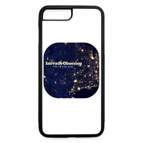 "InovativObsesion ""TURN ON YOU LIGHT"" Apparel - iPhone 7 Plus/8 Plus Rubber Case"