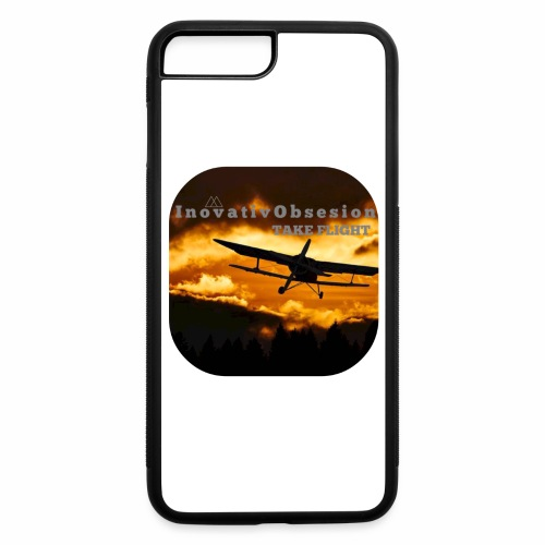 "InovativObsesion ""TAKE FLIGHT"" apparel - iPhone 7 Plus/8 Plus Rubber Case"