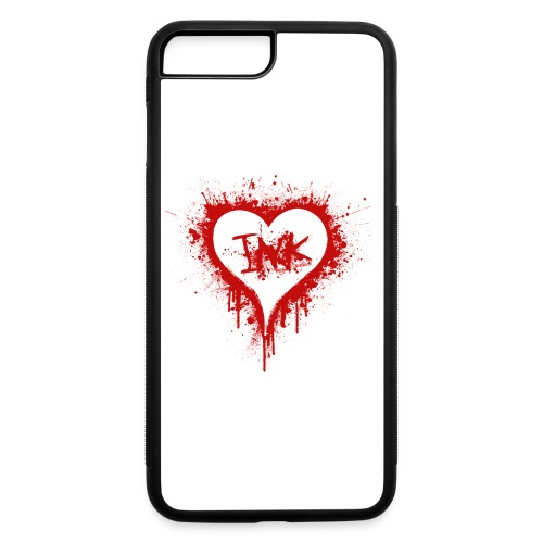 I Love Ink_red - iPhone 7 Plus/8 Plus Rubber Case