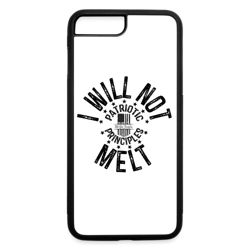 OTHER COLORS AVAILABLE I WILL NOT MELT BLACK - iPhone 7 Plus/8 Plus Rubber Case