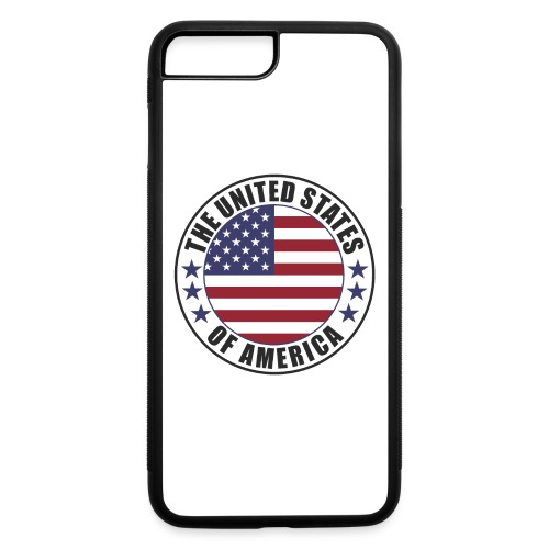 The United States of America - USA - iPhone 7 Plus/8 Plus Rubber Case