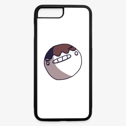 I'm dying inside face - iPhone 7 Plus/8 Plus Rubber Case