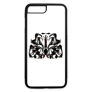 Abstract Bear - iPhone 7 Plus/8 Plus Rubber Case