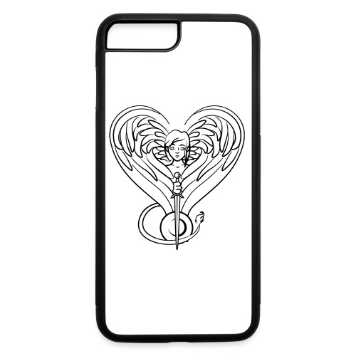 Sphinx valentine - iPhone 7 Plus/8 Plus Rubber Case